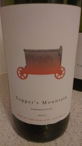 Tempranillo...carted to new places.