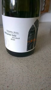 Damn classy label, damn classy wine