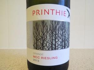 Stark label, but plentiful wine